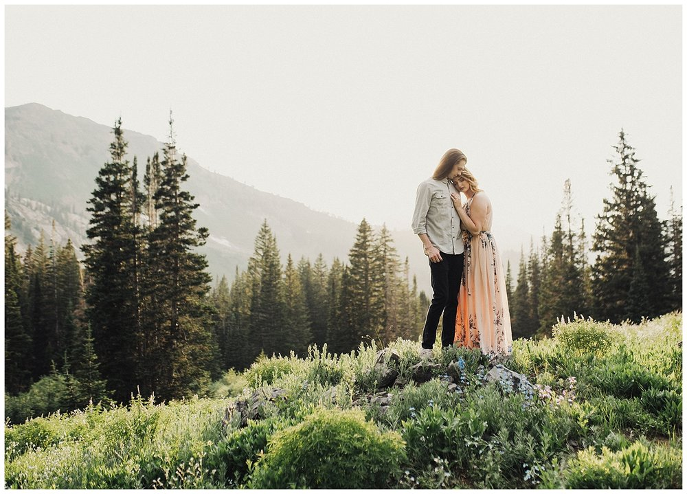 Engagement Session at Albion Basin