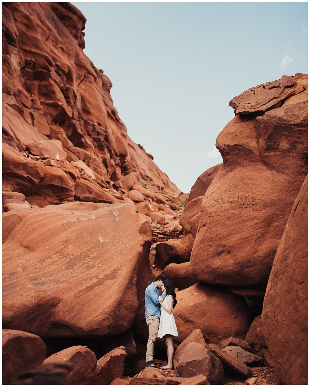 Red Rock Engagements at Dead Horse Point