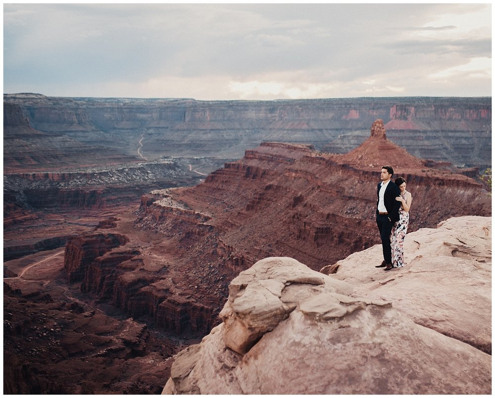 Red Rock Engagement Session at Dead Horse Point