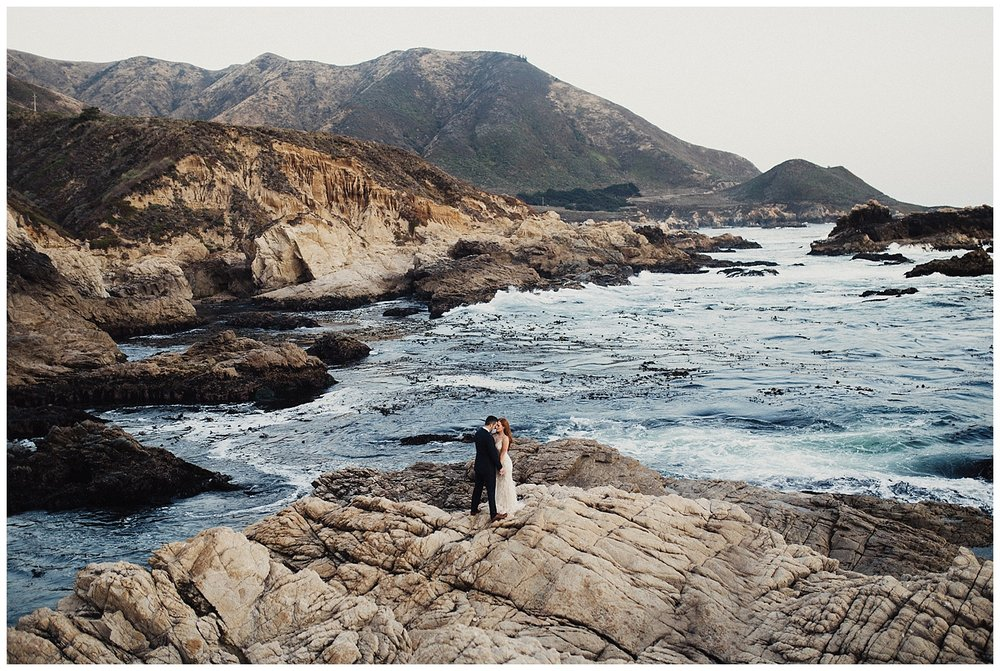 Big Sur Cliffside Elopement