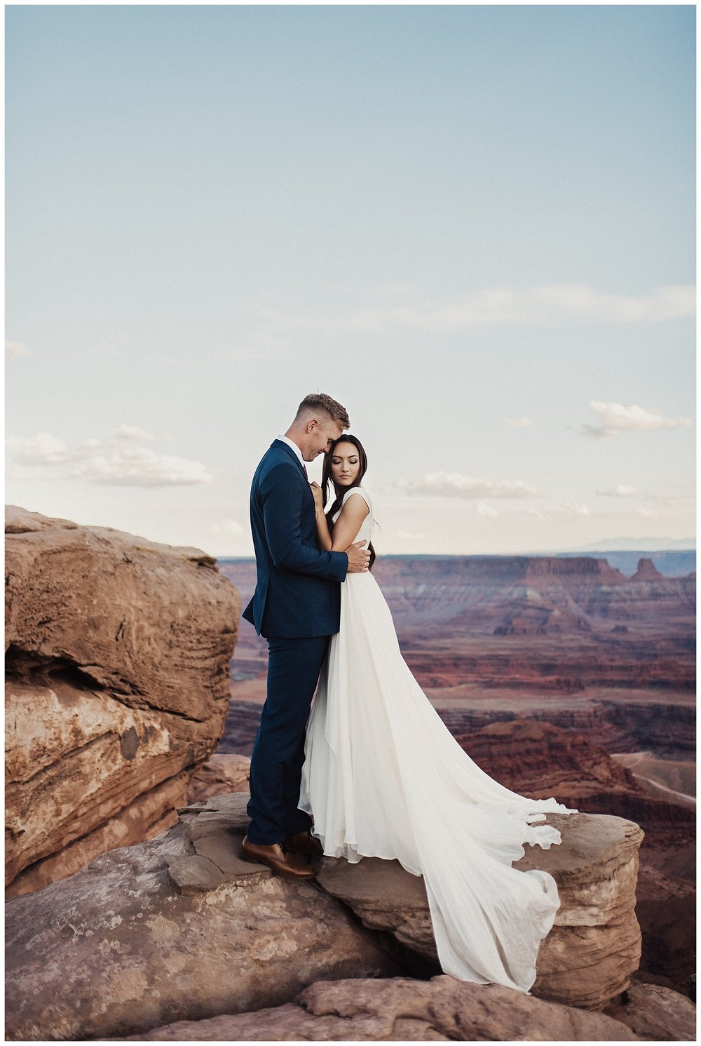 Wedding Bridals at Dead Horse Point