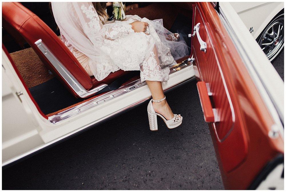 bridal details at casa cody wedding