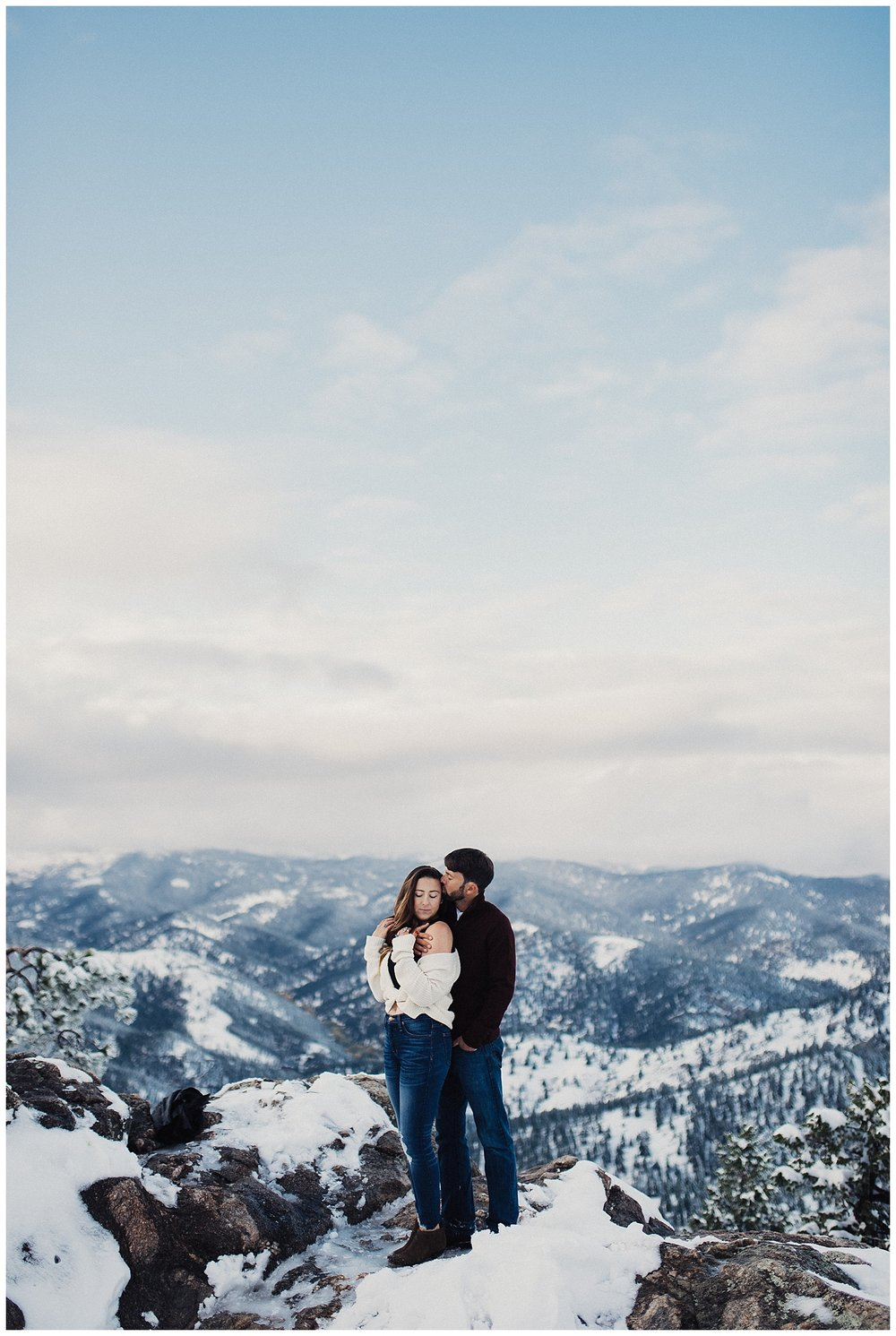 Boulder Colorado Engagements at Lost Gulch
