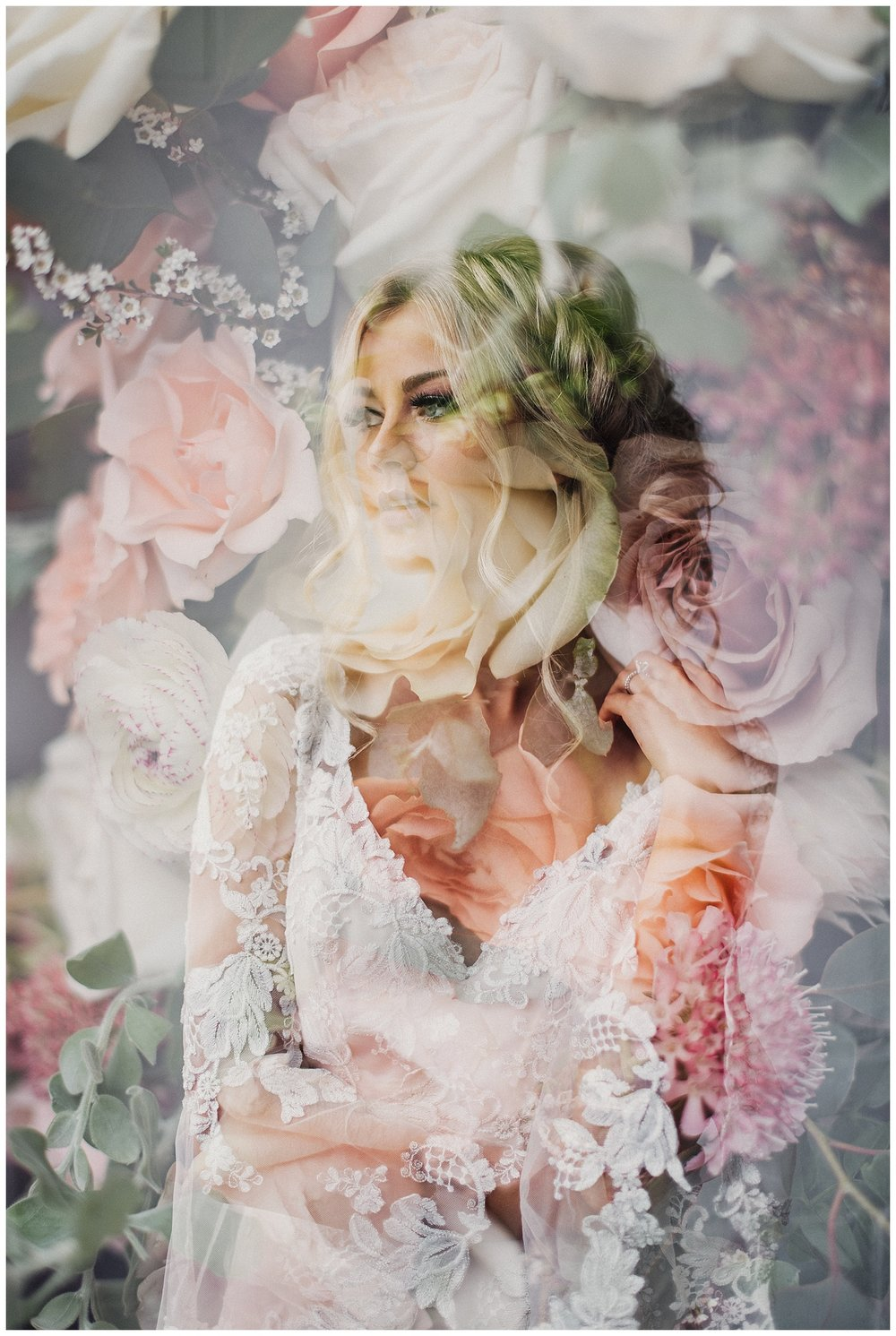 Studio Bridals Double Exposure