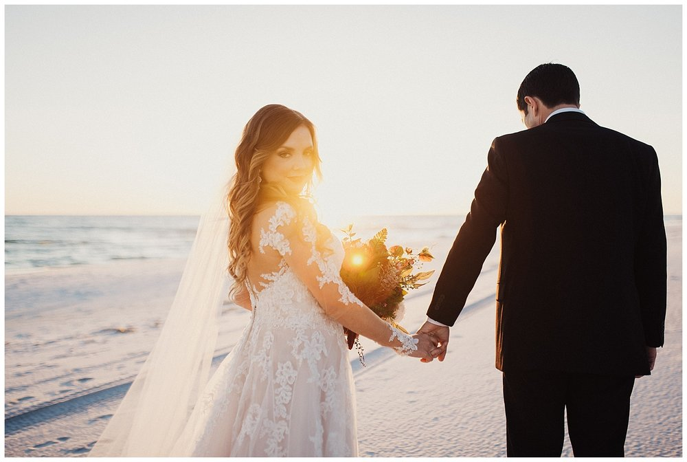 Beach Bridal Portraits in 30A