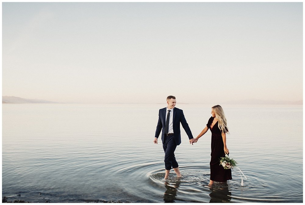 Eden Strader Photography Antelope Island Engagements
