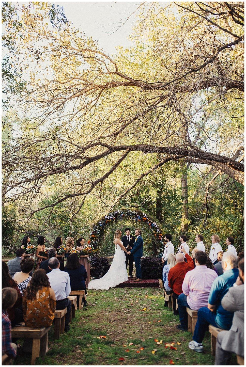 Backyard Wedding in Amarillo Texas