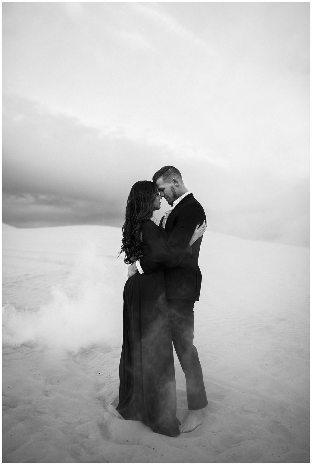 Smoke Bomb Photos in the Desert