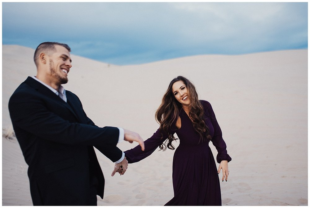 Little Sahara Sand Dunes Engagement Session