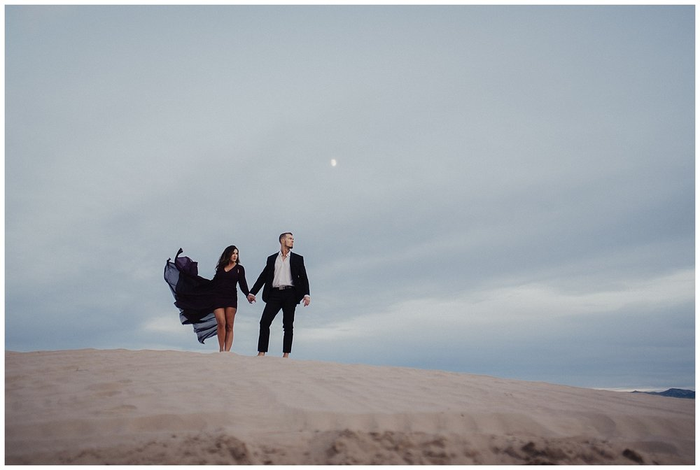Sand Dunes Engagement Session
