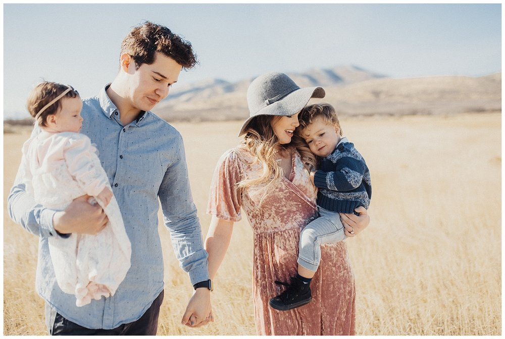 Boho Family Session