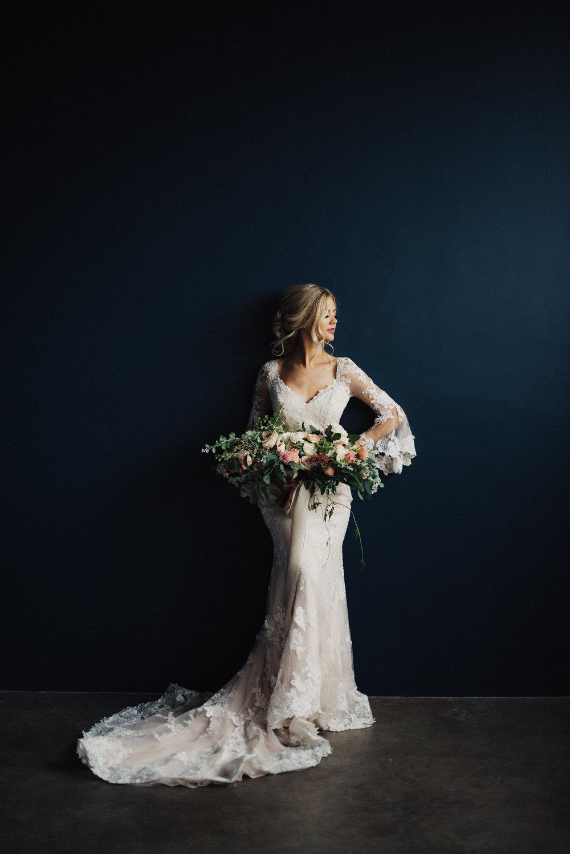 Studio Bridal Session Maggie Soterro