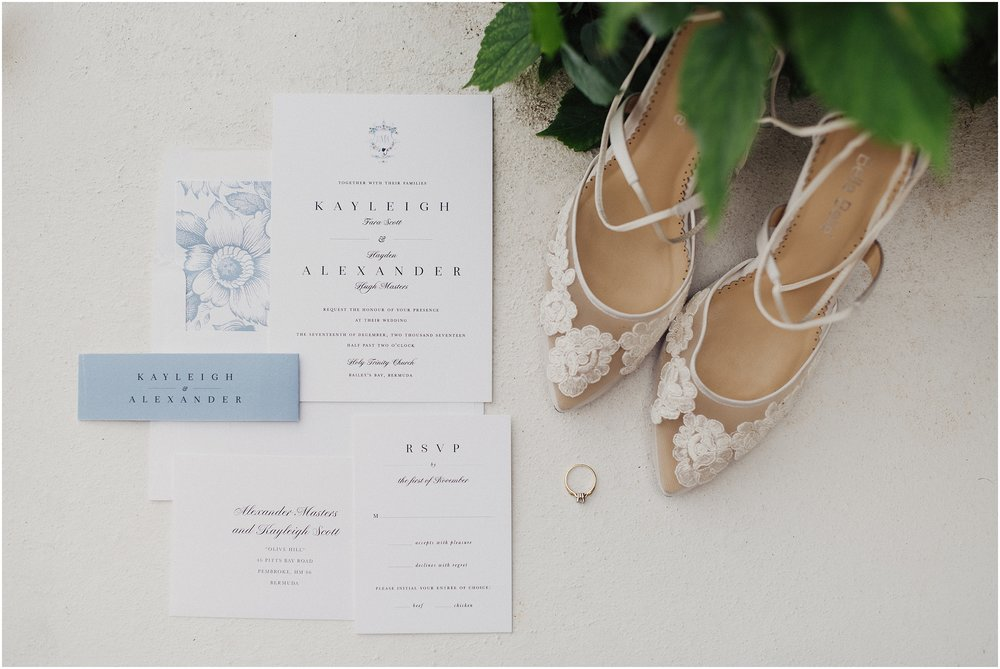 Bermuda wedding at Rosewood Tucker's Point