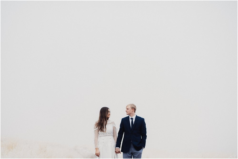 Foggy Engagements Eden Strader Photography