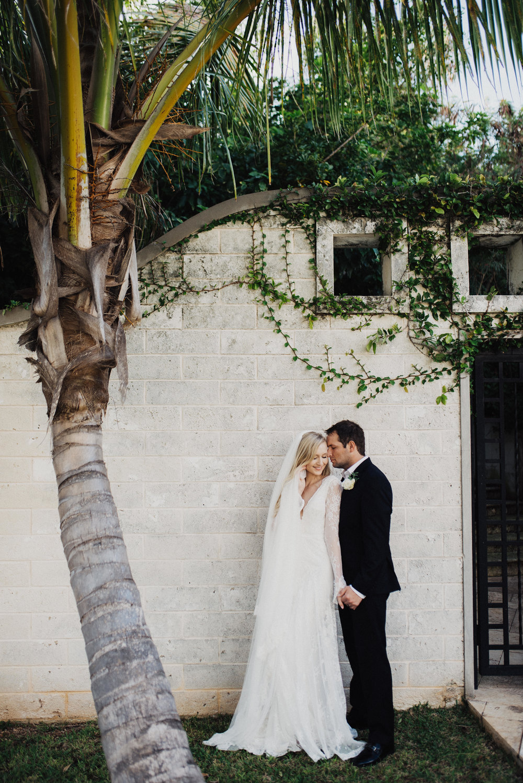 Tropical Bermuda Wedding