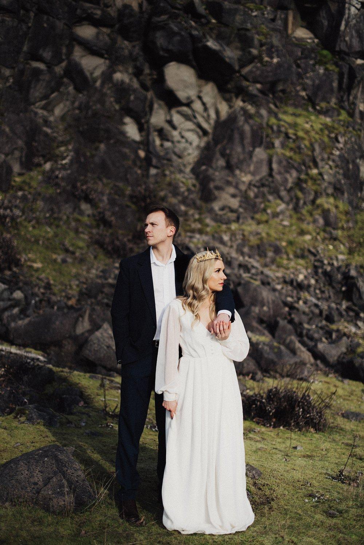 Eden Strader Oregon Bridal Session