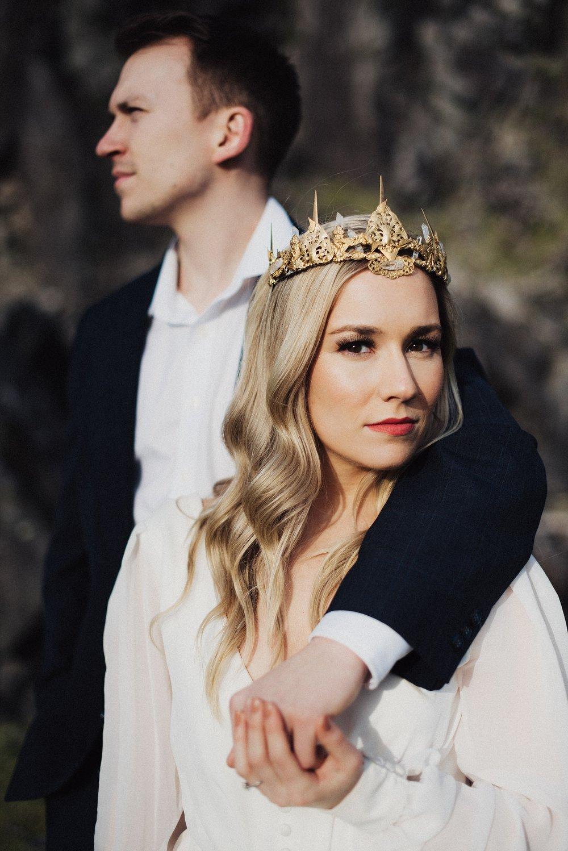 AB Ellie Bridal Crown