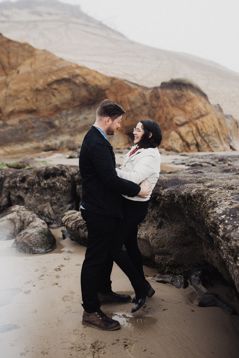 Cape Kiwanda Couples Session in Oregon