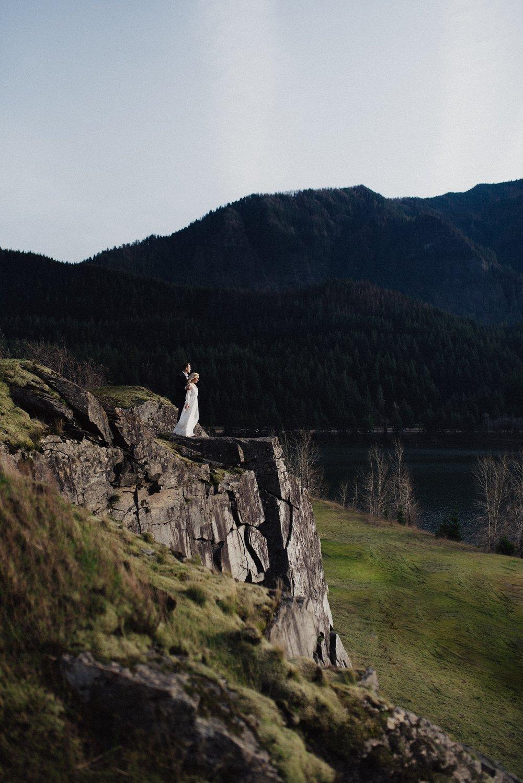 Government Cove Oregon Bridal Session