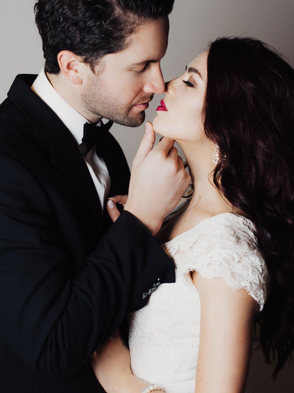 Eden Strader Studio Wedding Photos