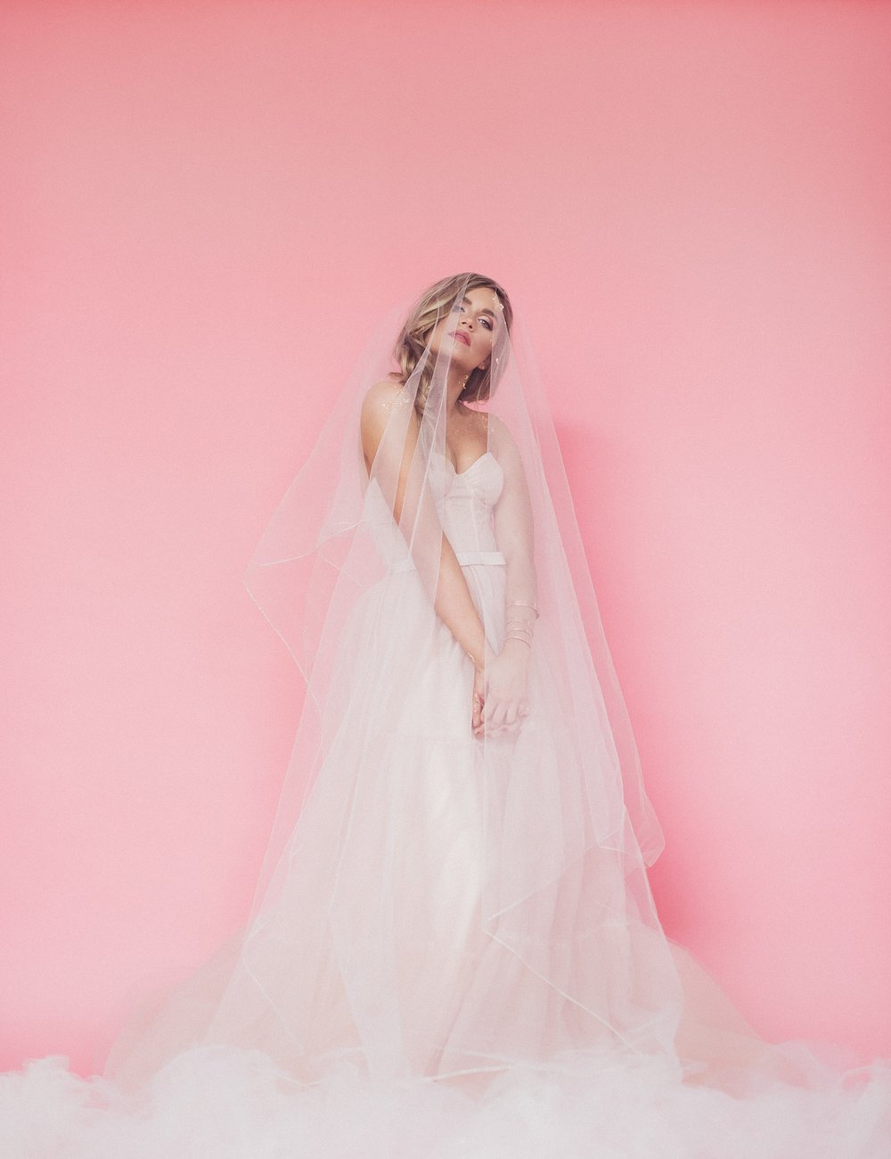 Eden Strader Pink Editorial Bridals