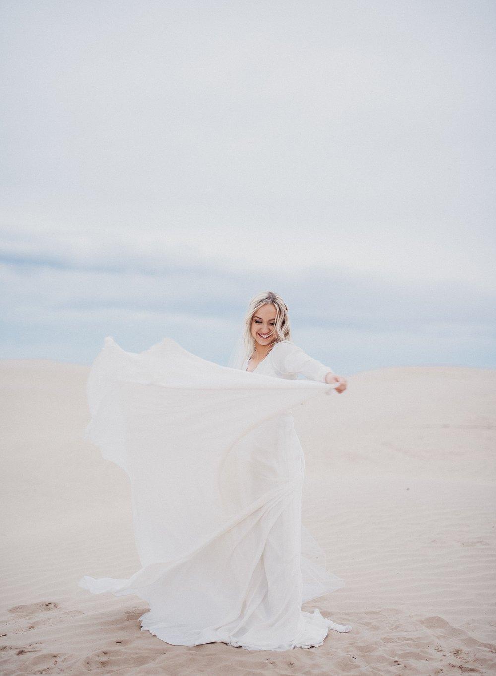 Alta Moda Bridal Boho Gown