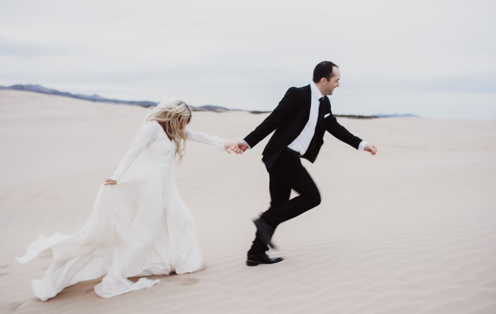 Sand Dunes First Look and Bridals