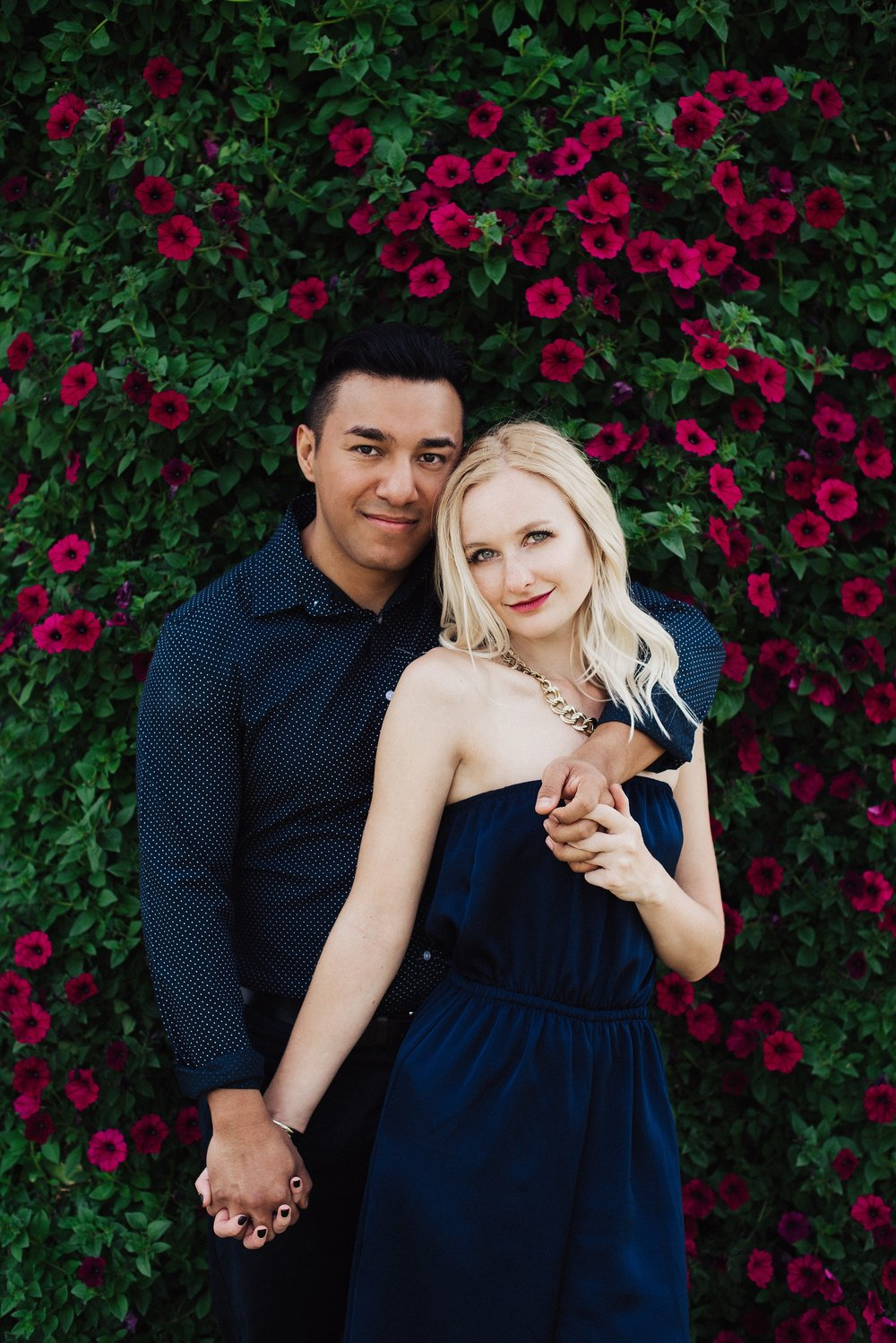 Spring Couples Session at Dallas Botanical Garden
