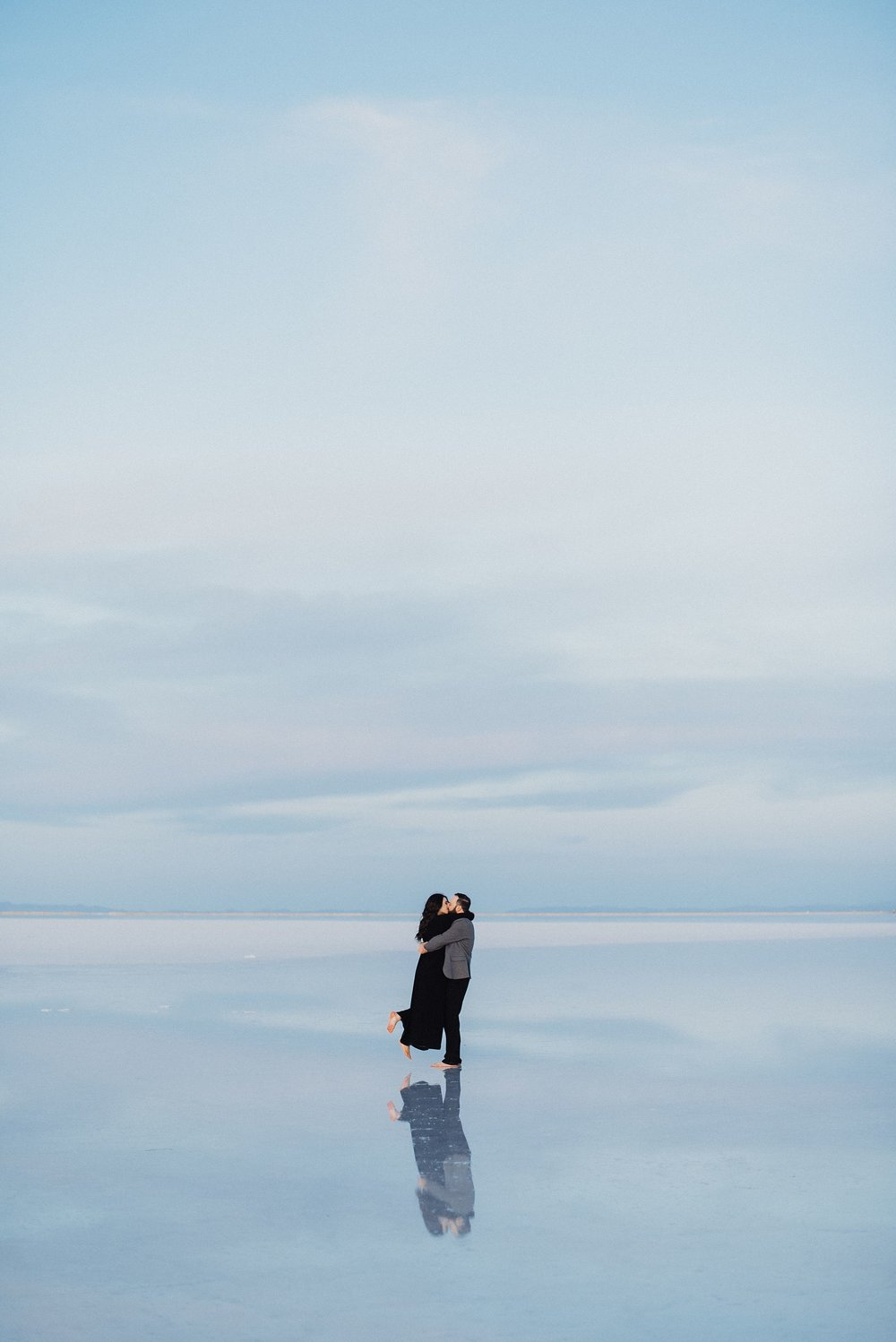 Utah Salt Flats Engagement Session