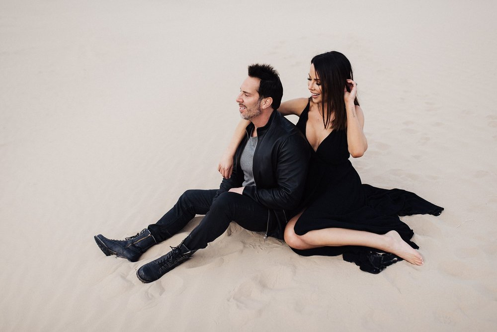 Sand Dunes Couples Session
