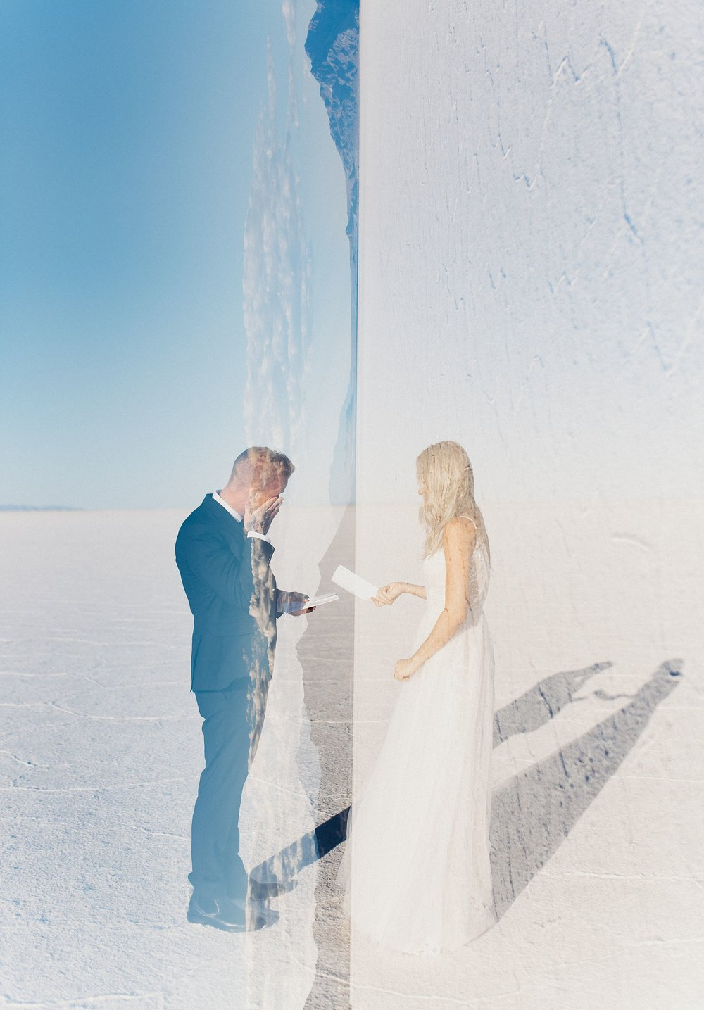 Bonneville Salt Flats Engagement