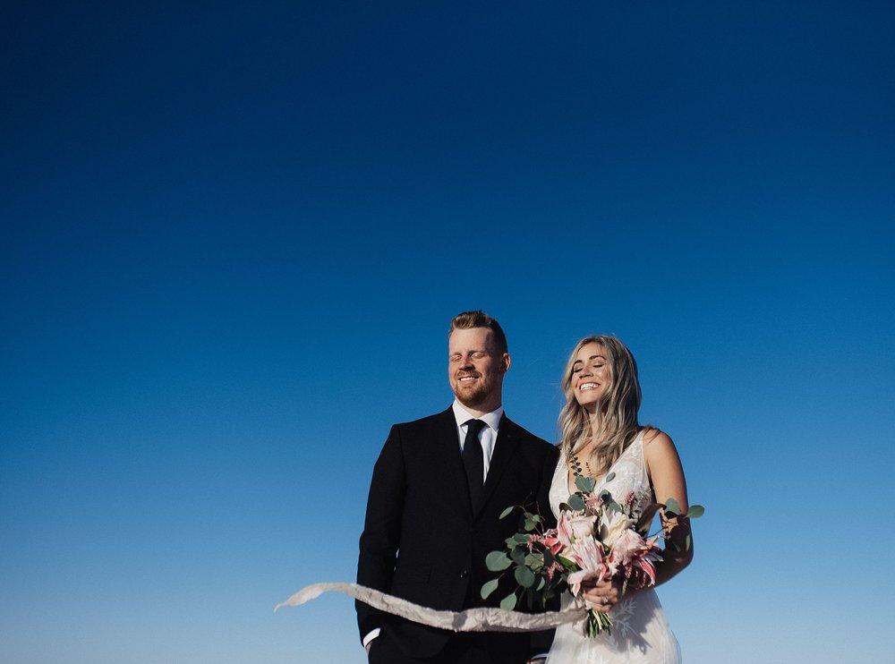 Bridals at the Bonneville Salt Flats