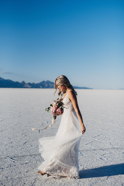 Salt Flats Wedding Photos