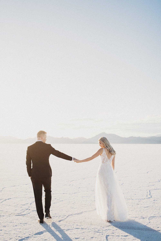 Modern Desert Bridals
