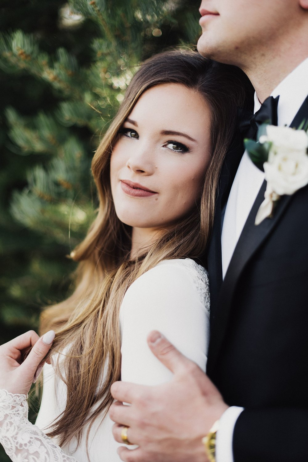 American Fork Canyon Wedding Bridals
