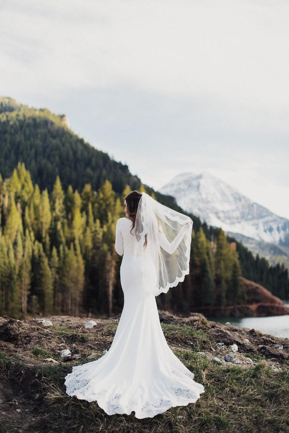 Tibble Fork Canyon Bridals