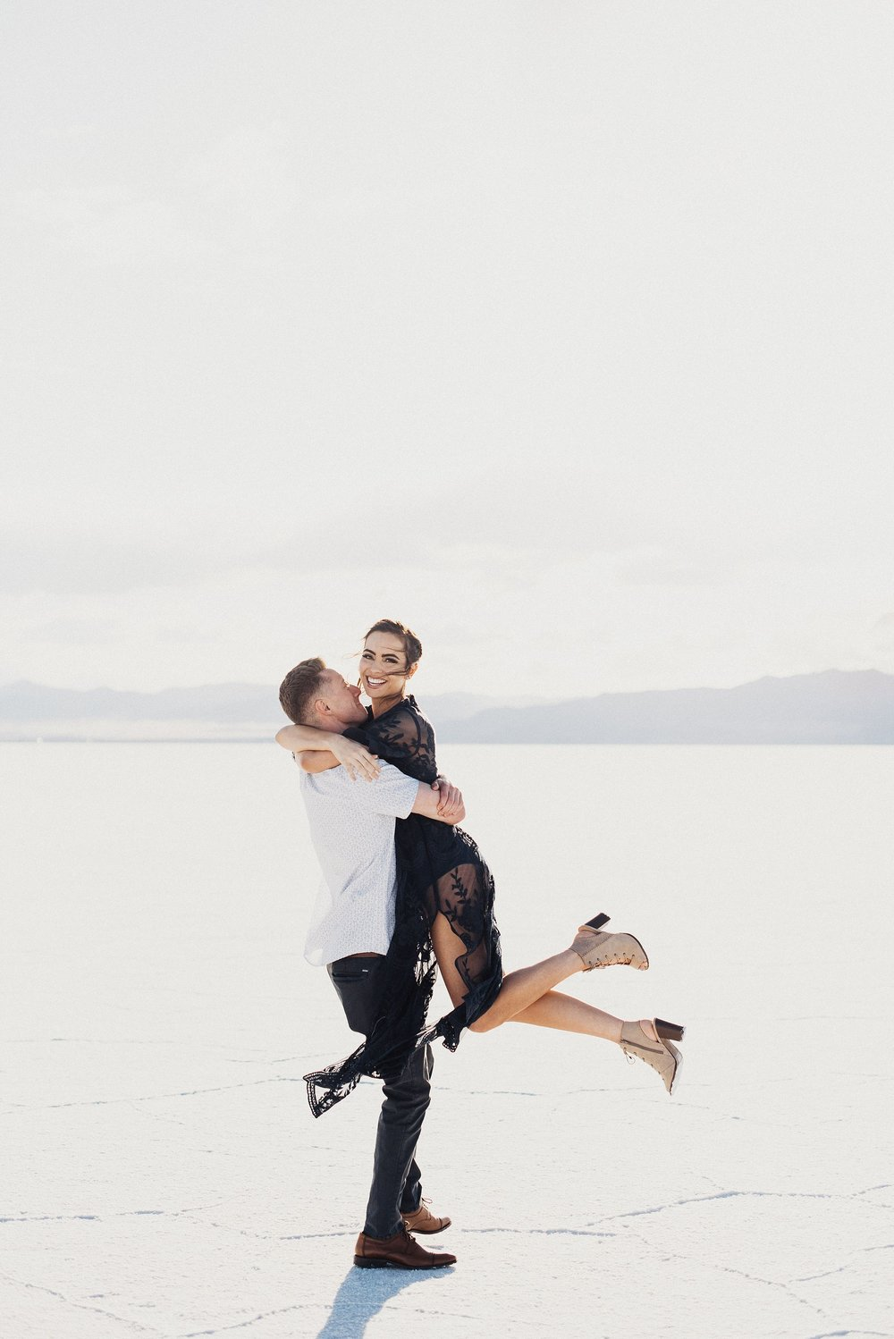 Engagements at Bonneville Salt Flats