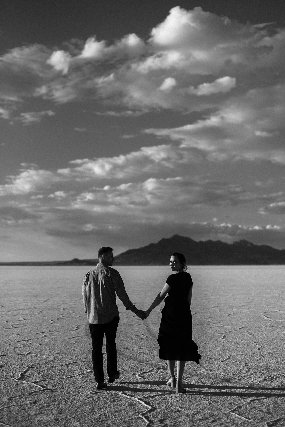 Bonneville Salt Flats Couples Session