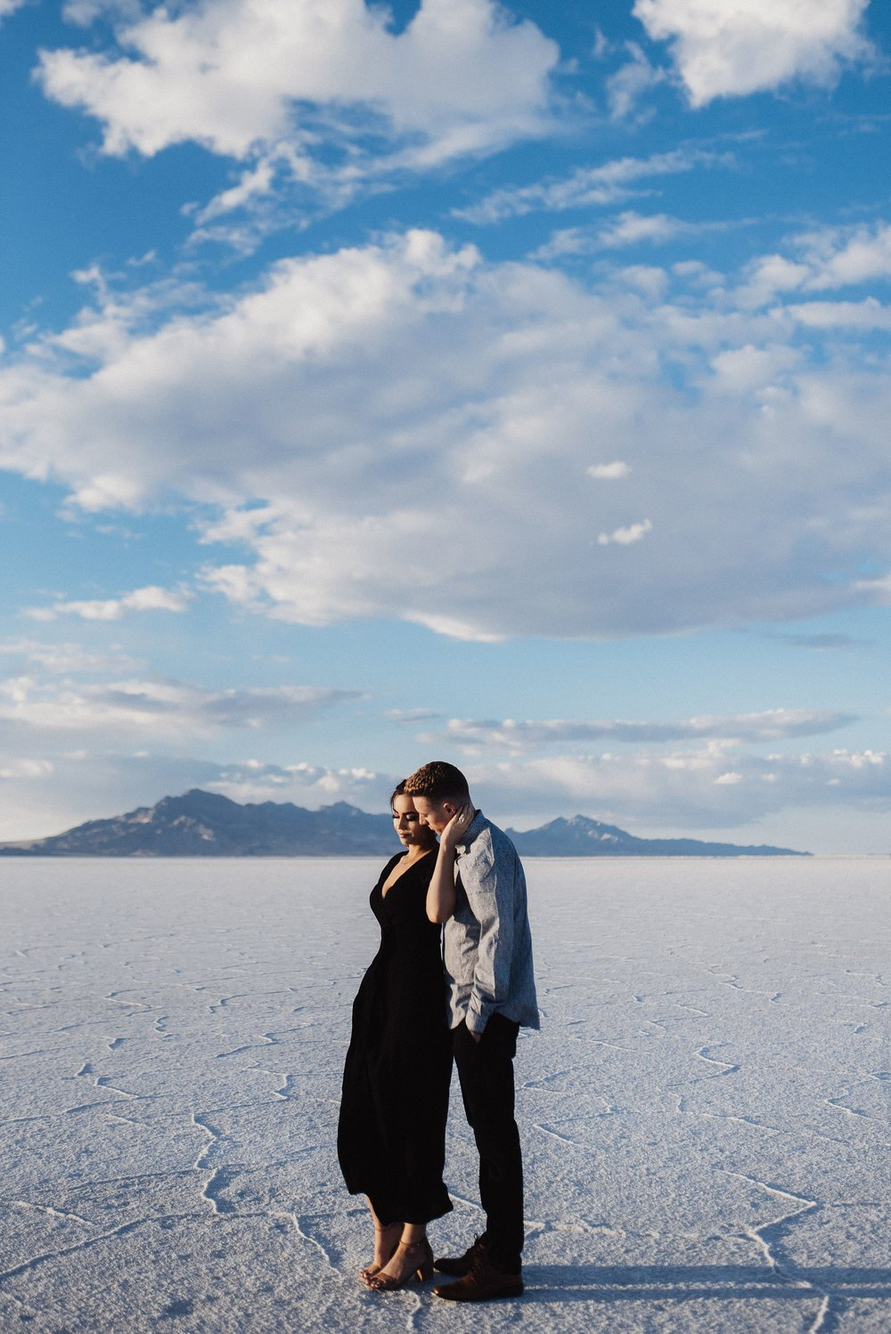 Salt Flats Engagement Session