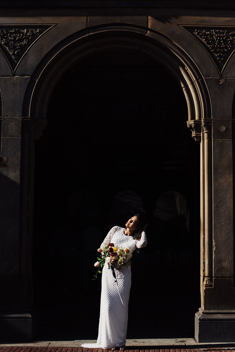 Bridals at Bethesda Terrace Central Park