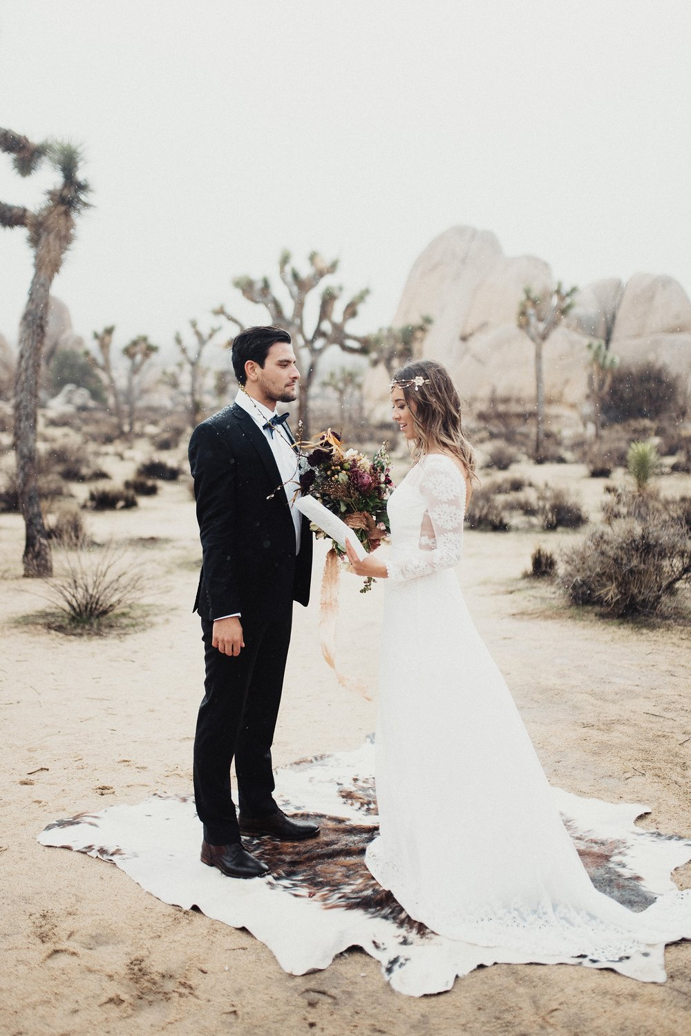 Boho Elopement Joshua Tree