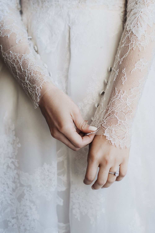 Eden Strader Lace Wedding Dress