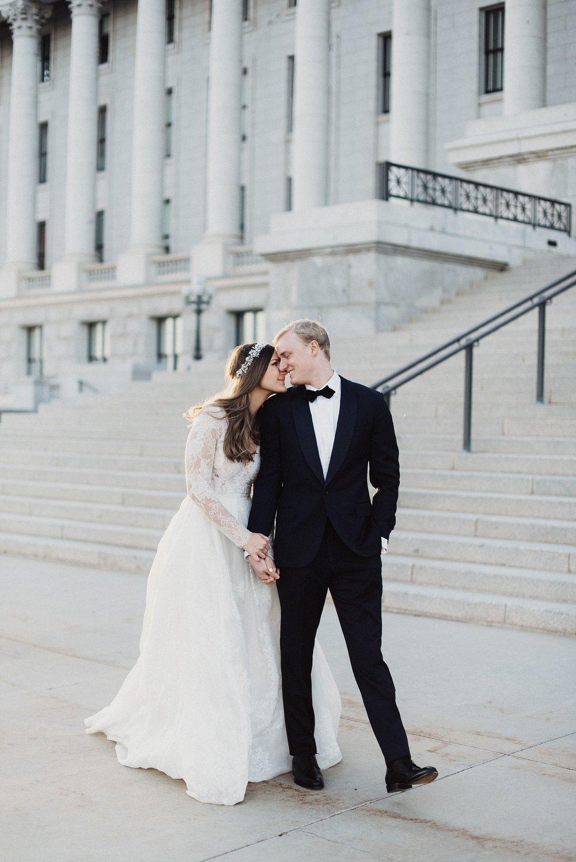 Utah State Capitol Bridals Eden Strader
