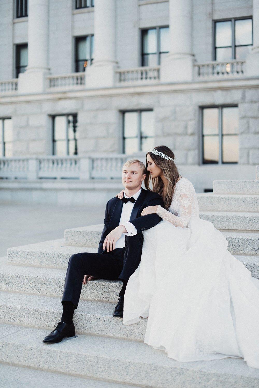 Modern Bridals Downtown Salt Lake