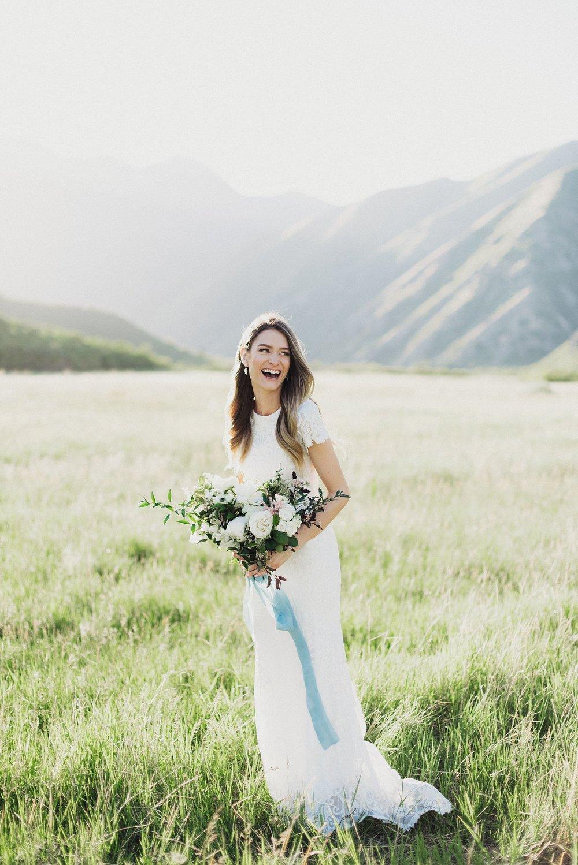 Utah Canyon Bridal Session