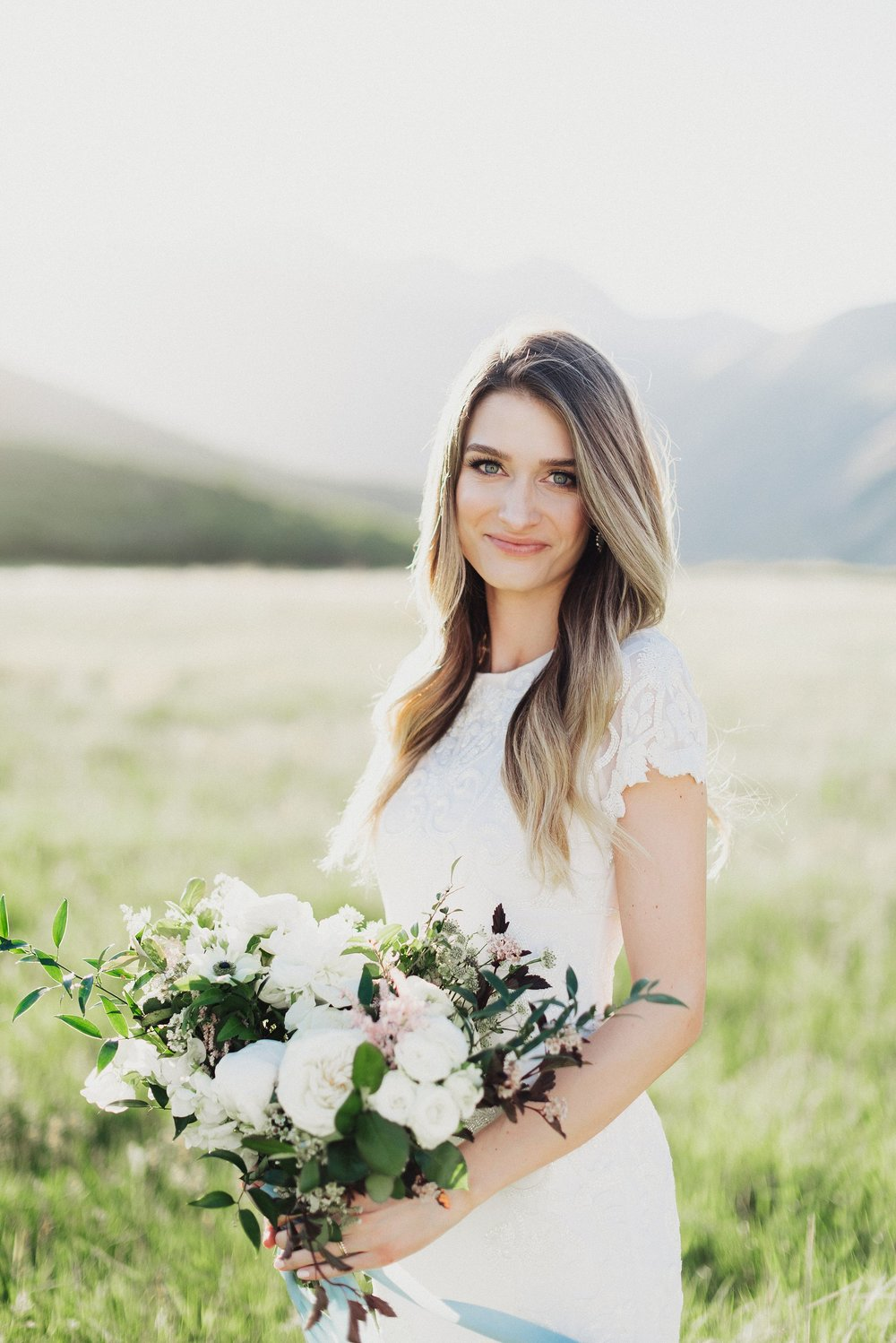 Modern Bridals in Provo Canyon