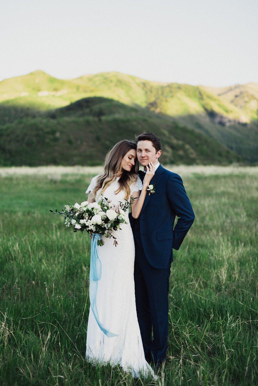 Utah First Look Bridal Session