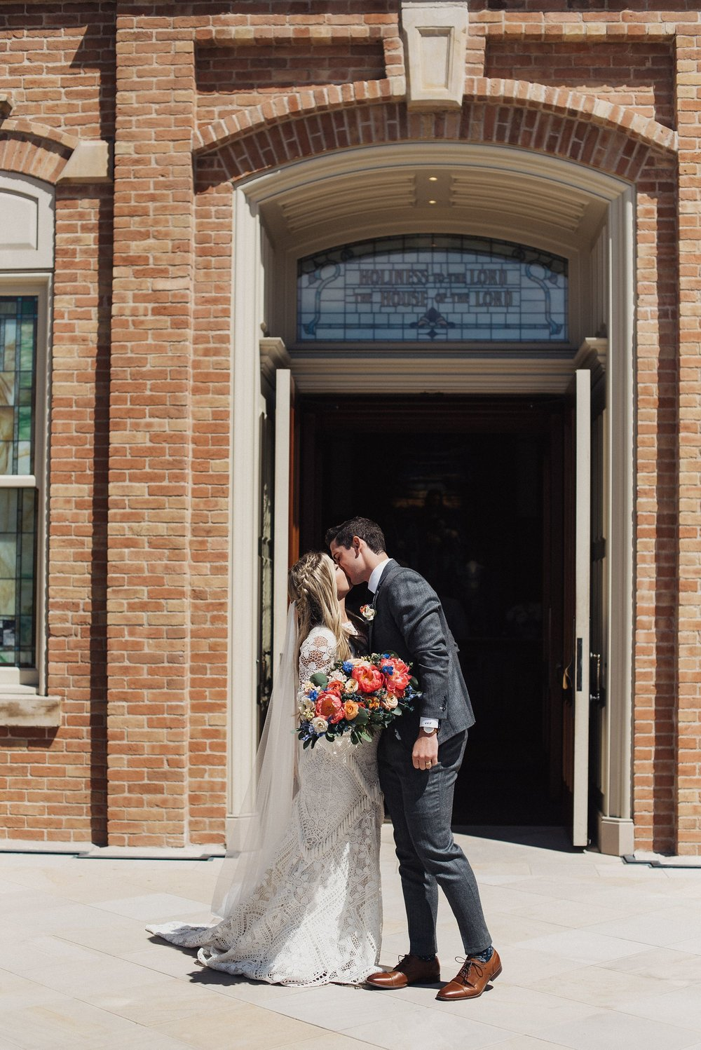 Eden Strader Provo City Center Temple Wedding