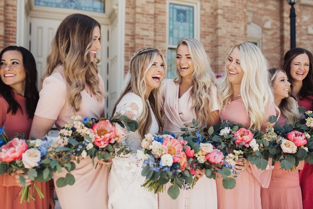 Provo Temple Wedding Eden Strader