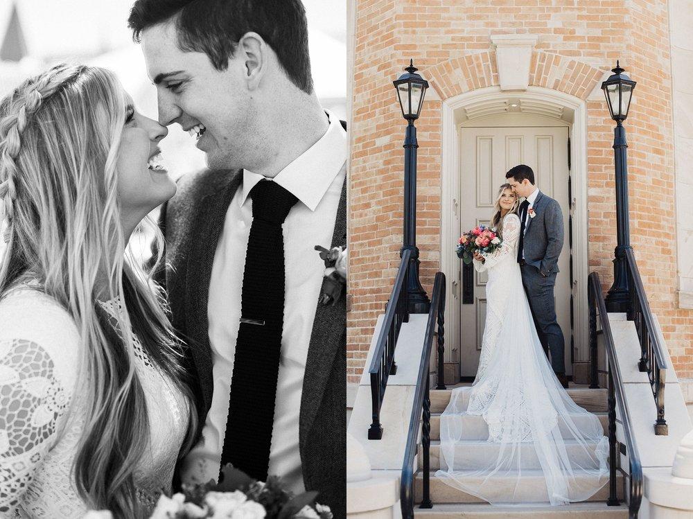 Provo City Center Temple Wedding